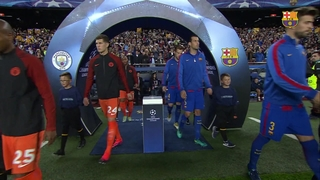 FC Barcelona 4 - Manchester City 0 (1 minute)