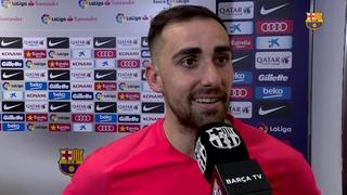 """Paco Alcácer: """"És especial marcar amb aquesta samarreta al Camp Nou"""