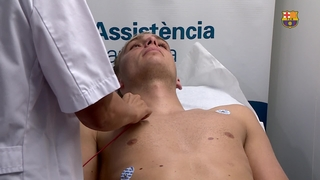 Jasper Cillesen's medical tests
