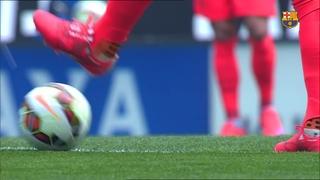 Espanyol 0 - FC Barcelona 2 (5 minutes)