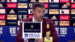 "Luis Enrique:"" We never said the league was over"""