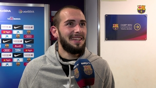 Aleix Vidal and Andrés Iniesta talk debuts and derby victories