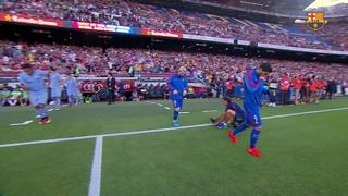 FC Barcelona 3 - Sampdoria 2 (2 minuts)