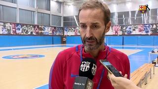 """Sito Alonso: """"A Moerman i Pressey els he vist amb ganes d'aprendre què és el Barça"""""""