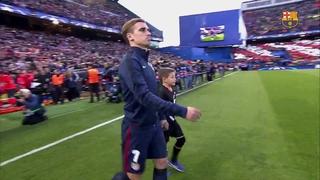 Atlético de Madrid 2 - FC Barcelona 0 (1 minuto)