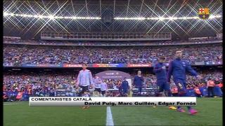 FC Barcelona 2 - Valencia CF 0