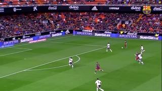 Valencia CF 1 - FC Barcelona 1 (1 minuto)