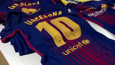 buy popular efa8b f8a45 Players to wear shirt with 'Barcelona' in place of their ...