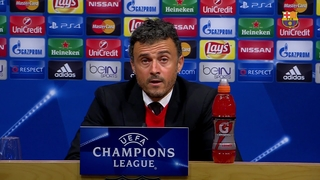 Luis Enrique satisfied with win against BATE