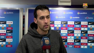 Sergio Busquets and Sergi Roberto react to big win over Athletic