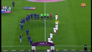 FC Barcelona 5 - Sevilla 1 (5 minuts)