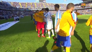 Málaga CF 1 - FC Barcelona 2 (1 minute)