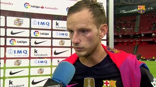 Rakitic, Ter Stegen and Denis reflect on San Mamés win