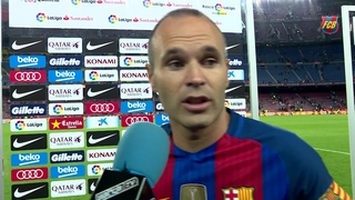 Andrés Iniesta laments dropped points