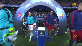 FC Barcelona 3 – Arsenal FC 1 (1 minute)