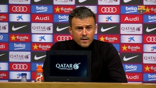 Luis Enrique: 'The team responded, the crowd too'
