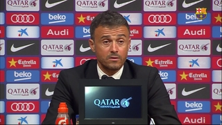 Luis Enrique calm, and still confident