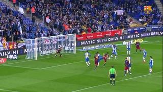 RCD Espanyol 0 – FC Barcelona 2 (1 minut)