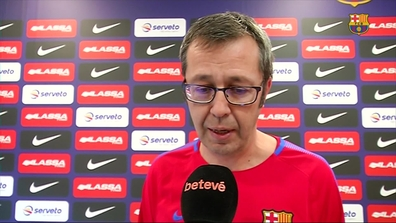 Video thumbnail for Declaracions prèvia Barça Lassa (hoquei patins) - CE  Noia J15 OK 938fe1c9210