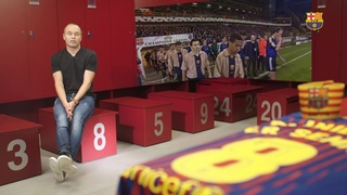 Iniesta about hist 1st team's debut