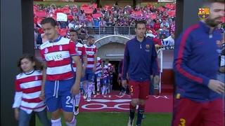 Granada CF 0 - FC Barcelona 3 (3 minutos)
