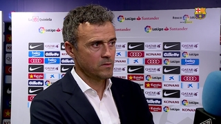Luis Enrique says he his team did everything they had planned to do
