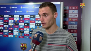 "Vermaelen: ""I am very happy for my first goal with Barça"""
