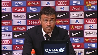 Luis Enrique sees his team in unstoppable form