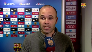 Iniesta and Samper on Barça's big win against Getafe