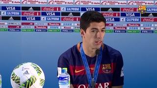 """Luis Suárez: """"Amb Leo i Ney tot resulta molt més senzill"""""""