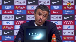 Luis Enrique praises team's depth