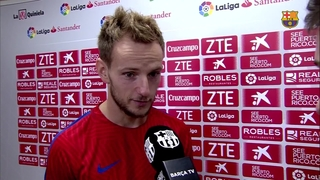 Post-match reaction: Ivan Rakitic and Denis Suárez