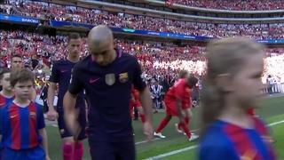 Liverpool 4  - FC Barcelona 0  (3 minutes)