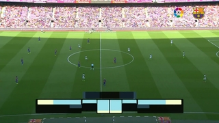 FC Barcelona 6 – Betis 2 (3 minutes)