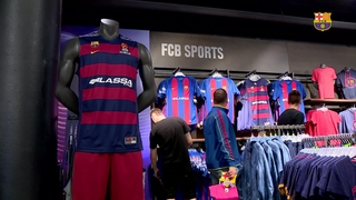 FC Barcelona's professional sports sections equipment, on sale