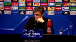 "Luis Enrique: ""It's a great night for us"""