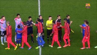 València 0 - FC Barcelona 1 (5 minuts)