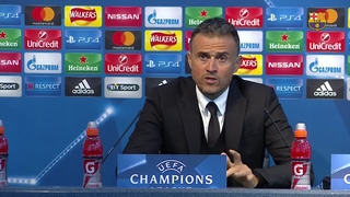 FC Barcelona manager Luis Enrique: