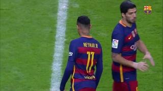 Sporting de Gijón 1 – FC Barcelona 3 (1 minute)