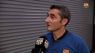 Ernesto Valverde extols the team's effort in win over Manchester United