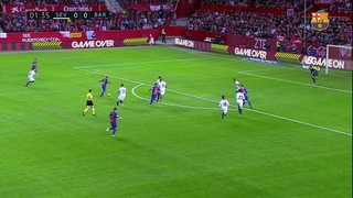 Messi's best moments against Sevilla