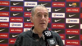 Les reaccions d'Andreu Plaza al sorteig de Copa