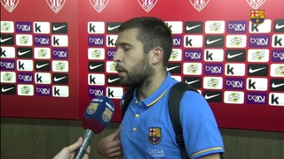 Players' reactions after game against Athletic