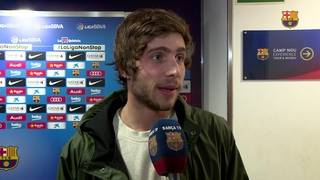 Sergi Roberto looks back on successful 2015