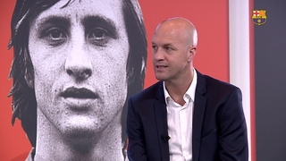 Jordi Cruyff describes his father's 'crazy genius'