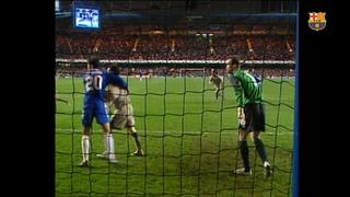 EVS Chelsea - Barça seguiment Ronaldinho (4-2) Tornada 1/8 UEFA Champions League 2004/2005