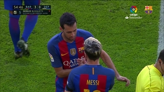 Así volvió la magia de Messi contra el Deportivo