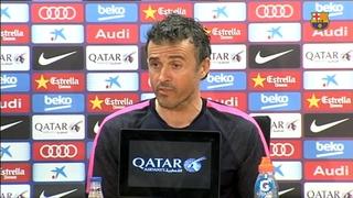 Rueda de prensa de Luis Enrique previa al partido contra la Real Sociedad