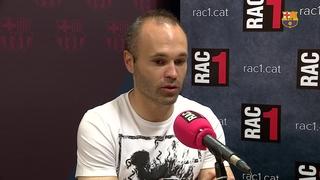 """Iniesta: """"Per a nosaltres la Copa és un títol més"""""""