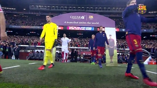 FC Barcelona 2 – Sevilla FC 1 (1 minute)